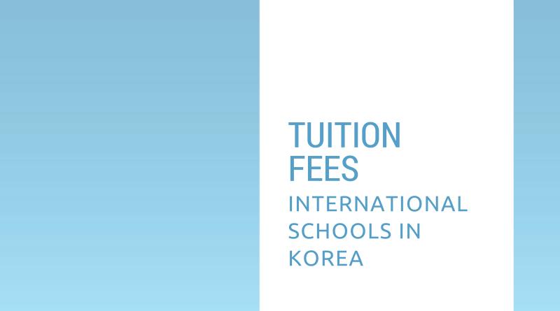 International Schools Tuition Fees